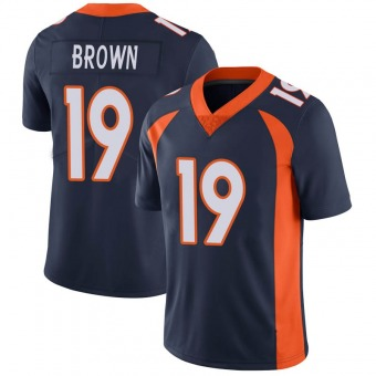 Men's Fred Brown Navy Limited Vapor Untouchable Football Jersey